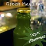 Organic, cold pressed Green Machine Juice