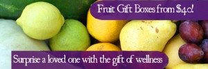 Fruit Gift Boxes from $40! Surprise a loved one with the gift of wellness