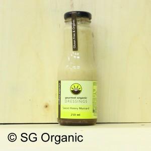 sg organic sweet honey mustard dressing
