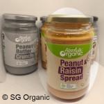 SG Organic_Spread - Peanut Raisin Spread 350g [Absolute Organic]