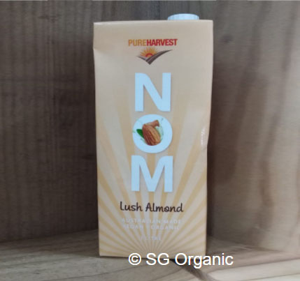 SG Organic_NOM (Nutty Oat Milk) Lush Almond 1L 14Dec20 2
